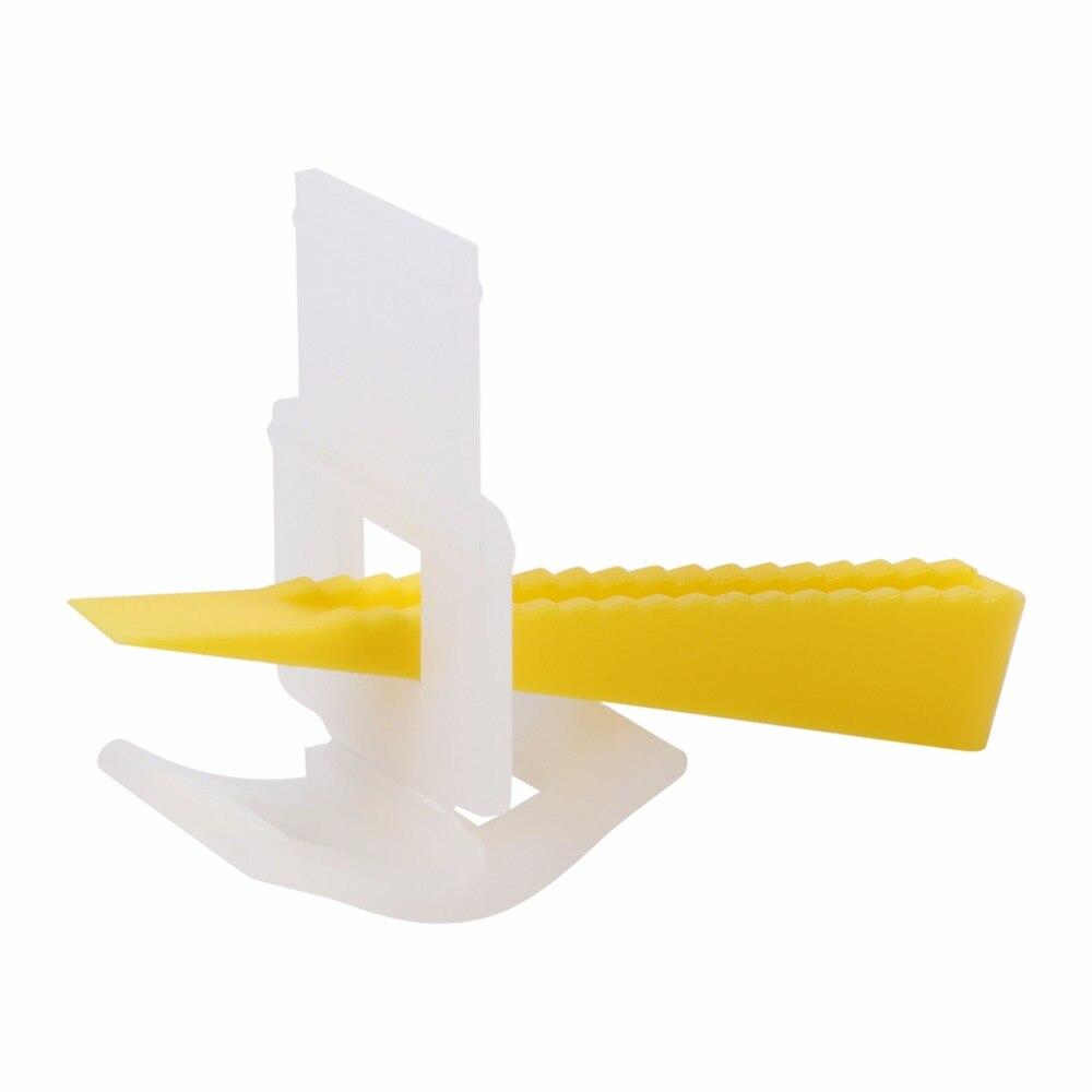 Купить с кэшбэком 200Pcs special tile leveling system gasket construction tool corner tile floor PE tile grouting  construction tools wall tiles