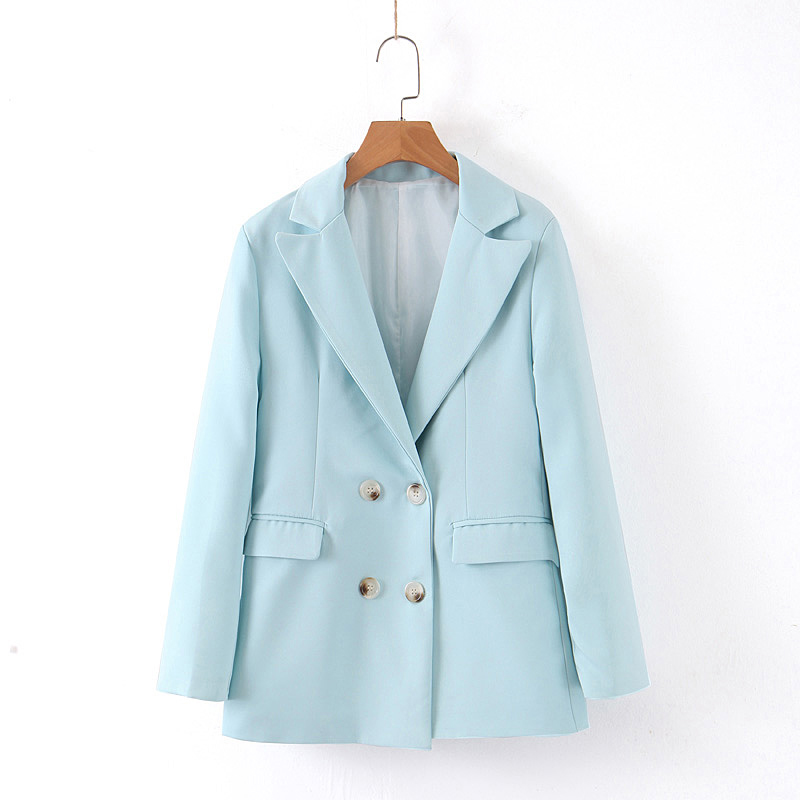 Women Casual Spring Autumn Blazer 4 Colors Solid Female Outwear Basic Jacket Ladies Suit