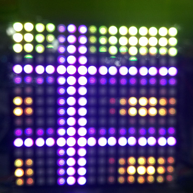 1 teile/los DC5V 16x16 Pixel WS2812B Digital LED Flexible Einzeln adressierbaren Panel licht