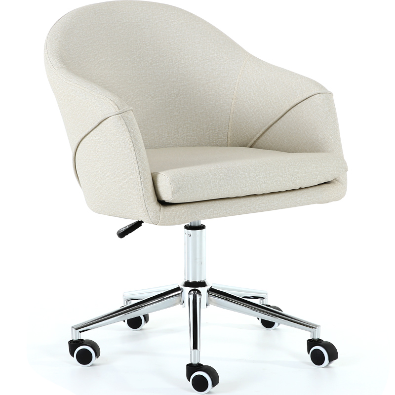 Nordic Modern Simple Office Chair Backrest Chair Office Furniture  Light Luxurious Artificial Leather Cadeira