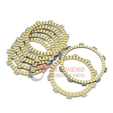 Motorcycle Friction Clutch Plates Disc For HONDA Shadow VLX 600 VT600C 1988 2007 VLX Deluxe VT600 CD VT600CD2 1993 2007