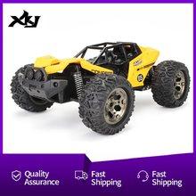 Carro rc 1:16 escala 2.4ghz 4wd de alta velocidade rápido controle remoto carro de corrida de carregamento usb veículo fora de estrada para crianças