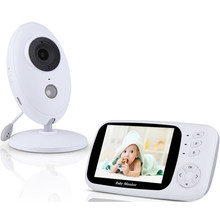 SHUJIN Video Baby Monitor VB603 2,4G inalámbrico 3,2 pulgadas LCD 2 vías Audio conversación visión nocturna Video Nanny bebé electrónica Monitor(China)