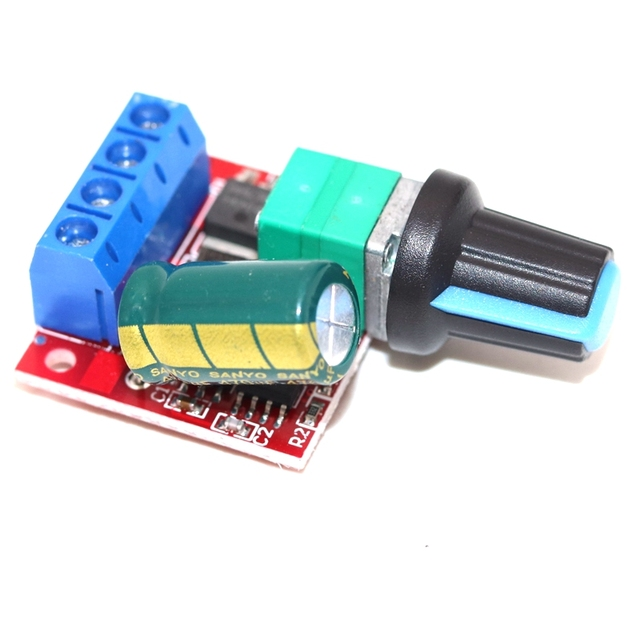 Фото pwm контроллер скорости двигателя постоянного тока 5v 35v панель цена