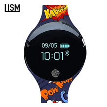 Color Touch Screen Smartwatch Motion detection Fashion Smart Watch Sport Fitness Men Women Wearable Devices For IOS Android trendy personality smartwatch waterproof motion detection health smart watch sport fitness women wearable devices