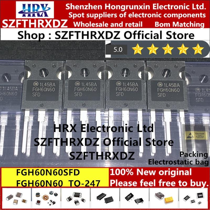 100% Новый оригинальный FGH60N60SFDTU TO 247 FGH60N60SFD TO247 FGH60N60 IGBT транзистор 600V 60A 30 шт/труба (10 шт)|Индукторы|   | АлиЭкспресс