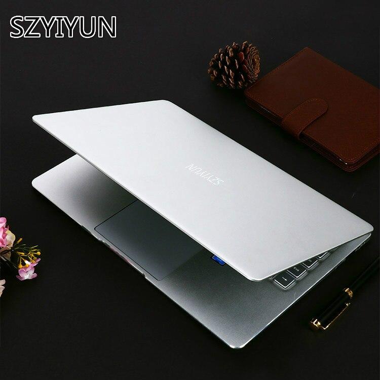 Silver 14 Inch Intel Laptop J3355 J3455 J4105 8G RAM 128G 256G 512G 1024G SSD Notebook Computer Laser Backlit Keyboard Laptop