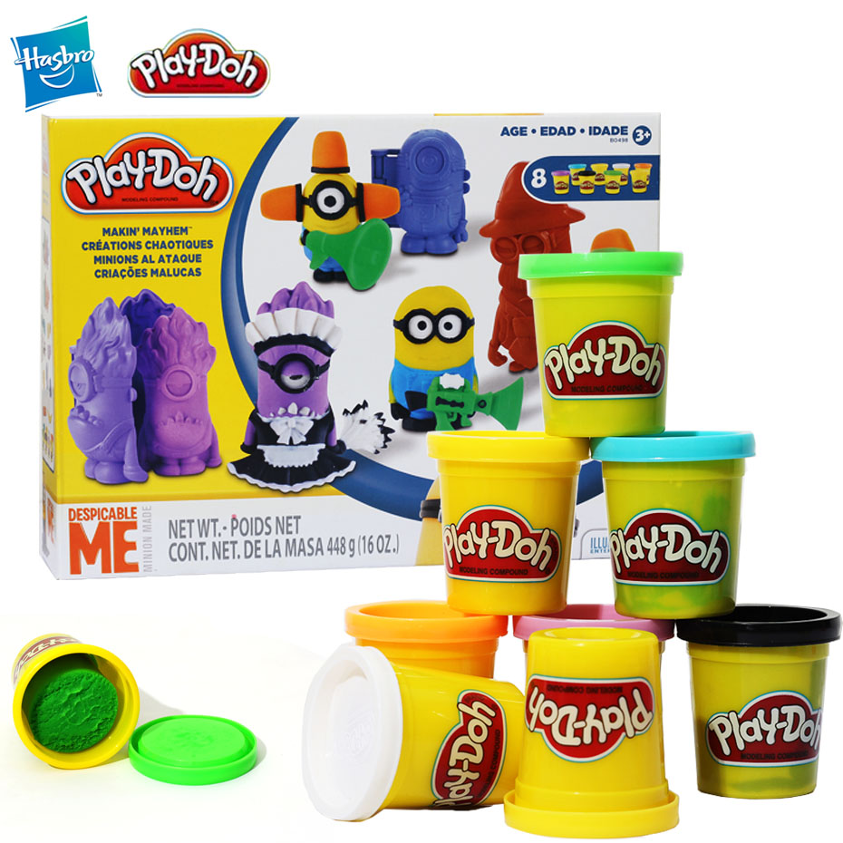 Hasbro Play-Doh Play-doh Color Clay Stealing Dad Series Character Clay Tool Set Children Plasticine Toys