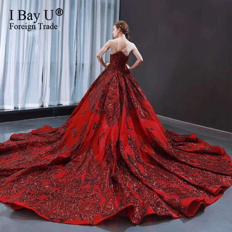 Vinho vermelho sexy lantejoulas rendas vestidos de