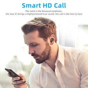 Image 4 - TWS 무선 이어폰 무선 이어폰 이어폰 모든 전화를위한 2200mAh 힘 은행을 가진 소형 방수 Headfrees