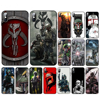 Bounty Hunter Boba Fett soft TPU phone case for iphone 11 pro XR X XS max cover 6s 6 7 8 plus SE 2020 5S Cool Design shell Coque image