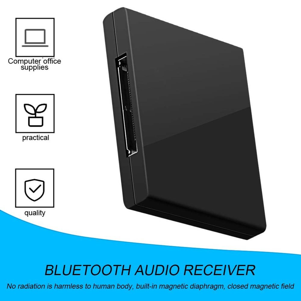 Bluetooth V2.0 A2DP Music Receiver Adapter For IPod For IPhone 30 Pin Dock Docking Station Speaker With 1 LED