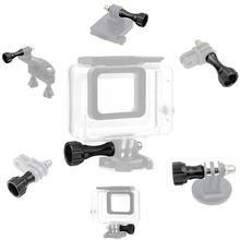 цена на Alumunium Thumbscrew Compatible for Gopro Max,Session,Hero 8/7/6/5/4/3+/3/2/1/Hero 2018/DJI OSMO/Tomtom Bandit/SJCAM Cameras
