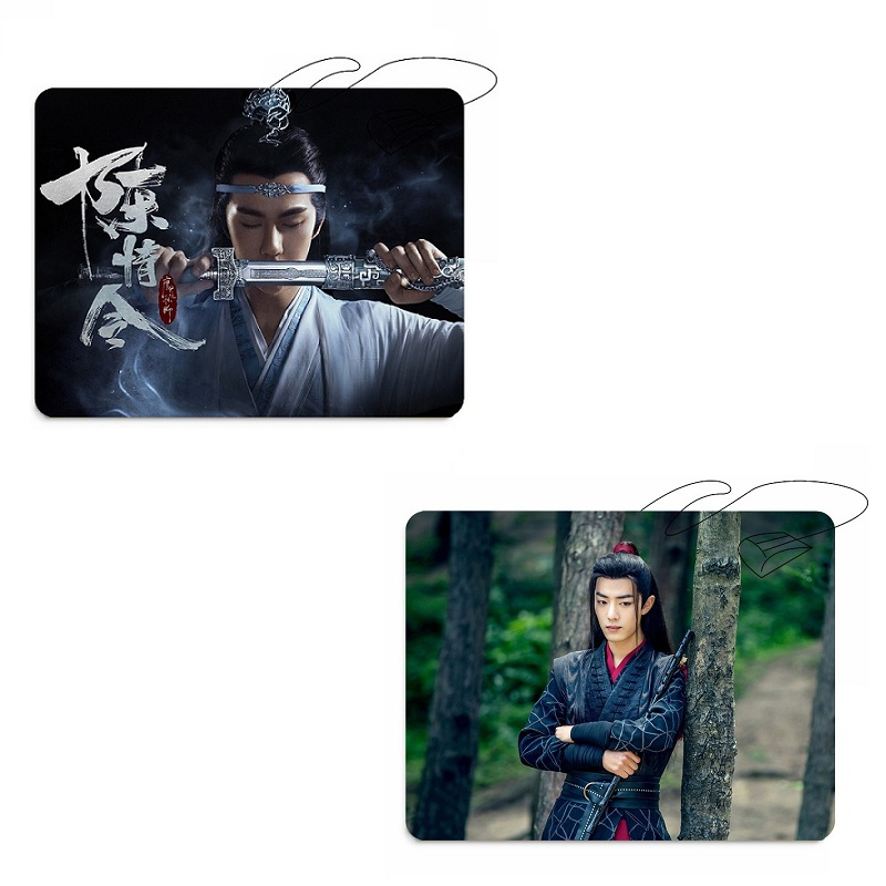 The Untamed Chen Qing Ling Mouse Pad Xiao Zhan Wang Yibo  Photo Rubber Mouse Mat Fans Gifts Star Around