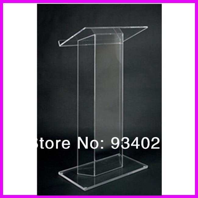 Modern Design Acrylic Podium Pulpit Lectern