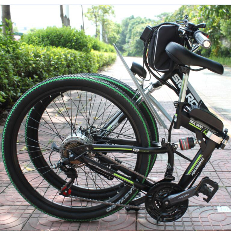 Hot sell 26 inch 48V 350W/500W electric bicycle high power e bike brushless ebike with LED Head Light 10AH/13AH Battery 1
