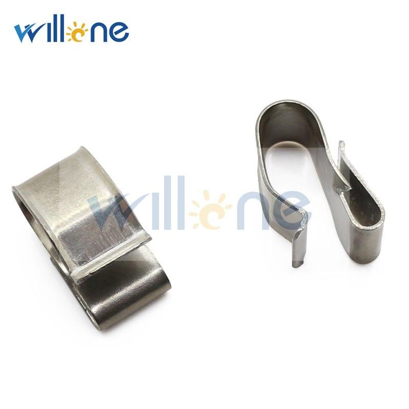 Willone 100pcs frete grátis aço inoxidável clips