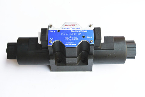 Válvula de Solenóide Válvula de Reversão Hidráulica 3c6 3c60 Dl-24v 220vlw Dsg03-3c2 3c3 3c4 3c5