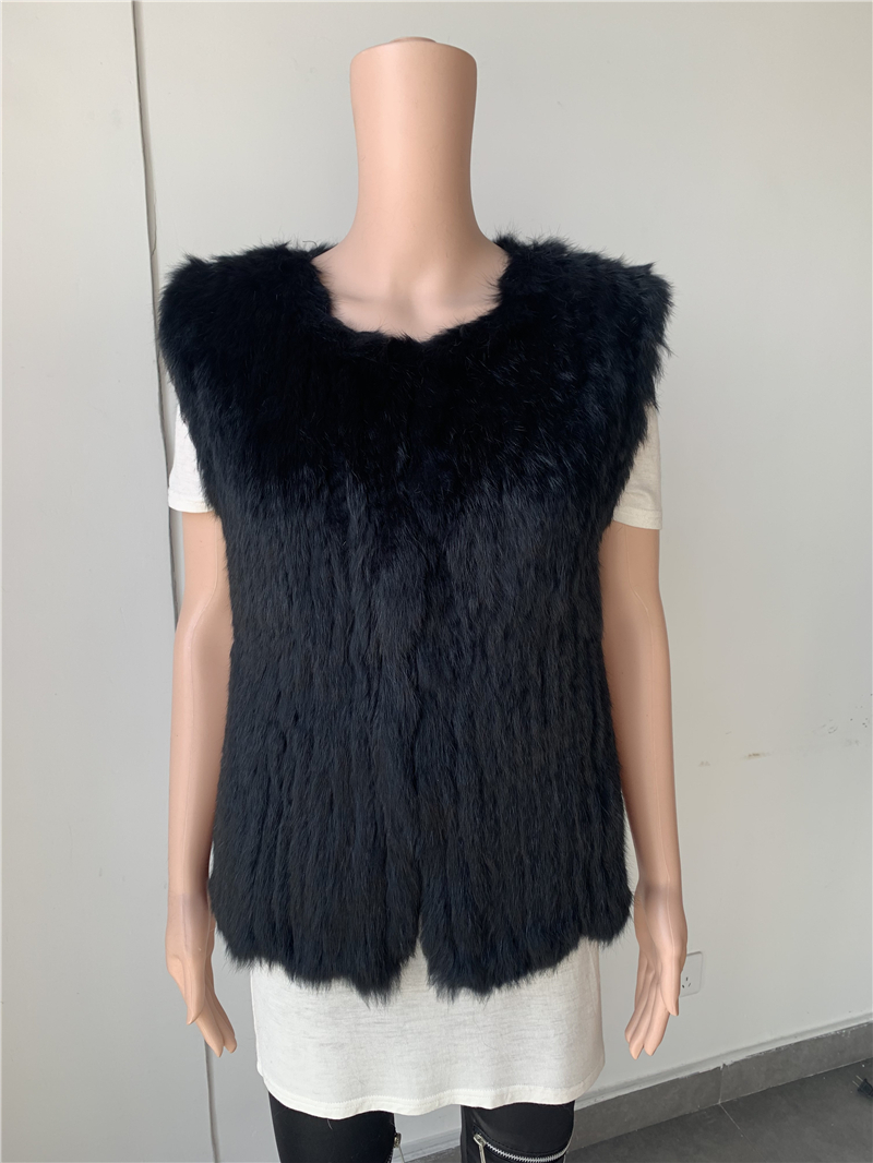 Sales Clearance  Real Rabbit Fur Vest