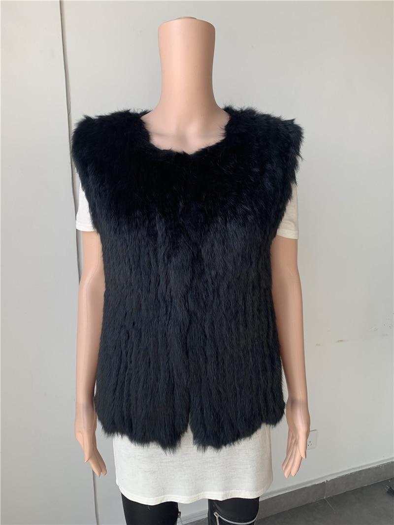 Sales Clearance  Real Rabbit Fur Vest