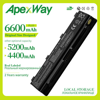 Apexway Laptop battery for Toshiba Satellite C50 C800 C850 C855 C855D L800 L830 L840 L855 L870 L875 M800 P800 P850 P855 P870 v000275300 for toshiba for satellite c850 c855 l850 l855 hm70 motherboard 100% work perfectly