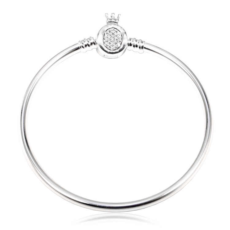Authentische 925 Sterling Silber Armband Momente Crown O & Schlange Kette Armband Fit Frauen Perle Charme Diy Mode Schmuck