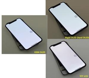 Image 4 - Klasa AAA + + + ekran OLED TFT LCD dla iPhone X XS XR 11 Pro Max OLED TFT wyświetlacz LCD ekran dotykowy Digitizer z dotykiem 3D