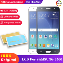 10 adet/grup 5.0 TFT incell Oled LCD SAMSUNG Galaxy J5 2015 J500 ekran dokunmatik ekran meclisi J500FN J500F SM J500F LCD