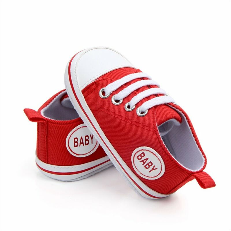2020 Baby First Walkers Cute Newborn Kid Canvas Sneakers Baby Boy Girl Soft Sole Crib Shoes Pre Walkers 4