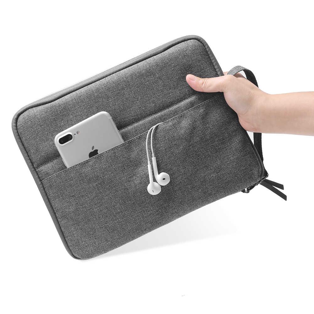 2019 أحدث جيب للجهاز اللوحي الحقيبة حافظة لجهاز ipad 2018 2017 الهواء 1 2 مصغرة 2 3 4 برو 9.7/10.5/11 بوصة واقية السفر غطاء أكياس