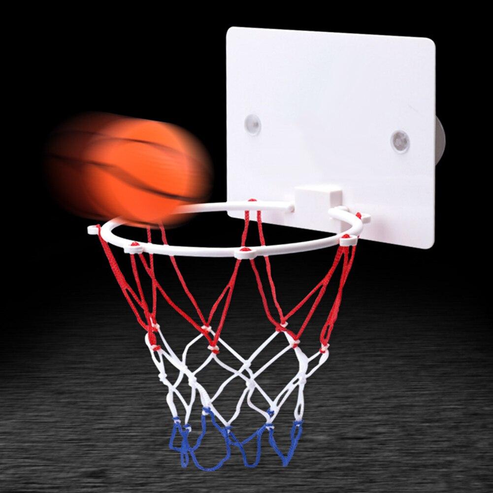 Настенный баскетбольный обруч, сетчатая задняя панель, мячи, игрушки для игр на открытом воздухе, для помещений, спортивная игра, набор игру...