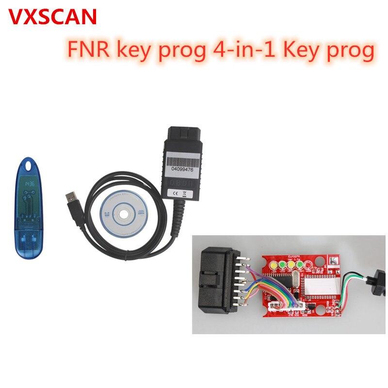 FNR Key Prog 4-in-1 Key Prog for Nissan/FNR Key Programmer With USB Dongle Fnr 4-in-1 No Pin Coder(China)