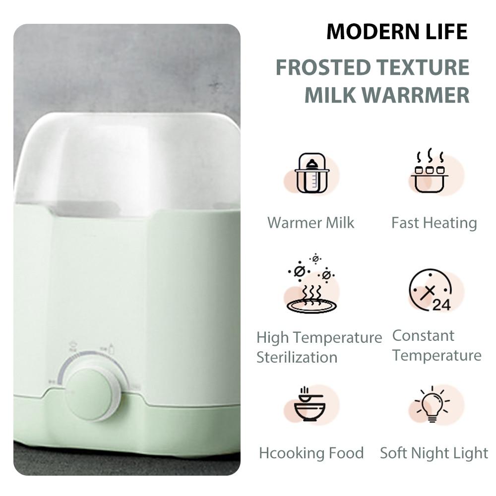 NEW Baby Feeding  Bottle Warmer And & Bottle Sterilizer Double Bottle Warmer Intelligent Thermostat  fast warm milk & sterilizer 3