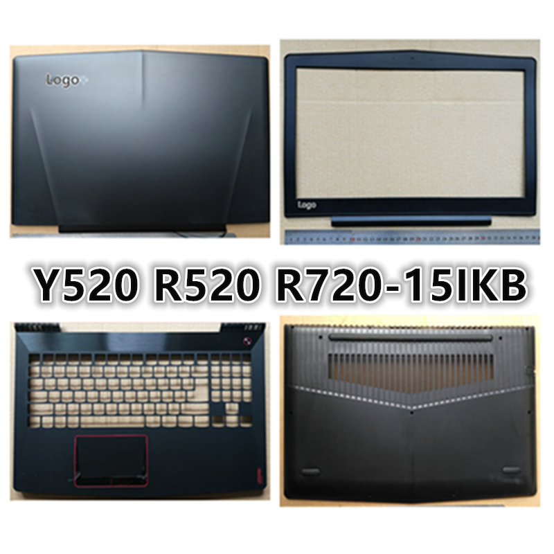 Brand New Laptop For <font><b>Lenovo</b></font> Legion <font><b>Y520</b></font> R520 R720-15IKB LCD Back Cover Top <font><b>Case</b></font>/LCD Front Bezel/Palmrest/Bottom Base Cover <font><b>Case</b></font> image