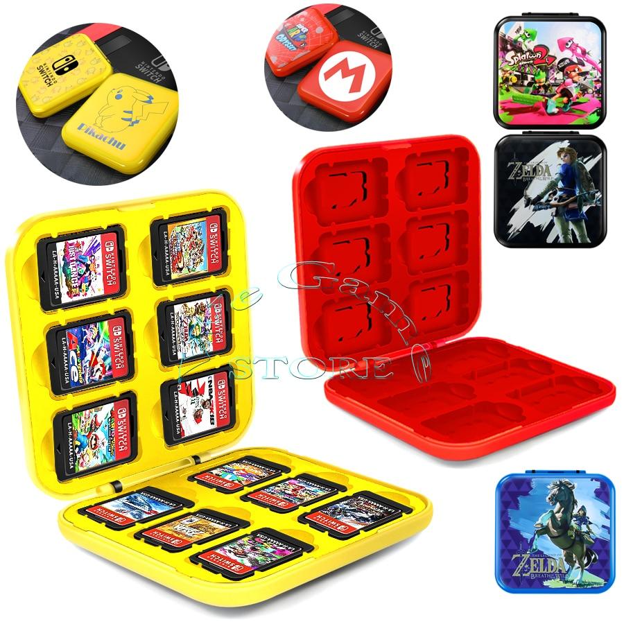 Nintendoswitch Game Card Case Box Nitendo Nintend Switch Disc Mi ni Storage Bag for Nintendo Switch