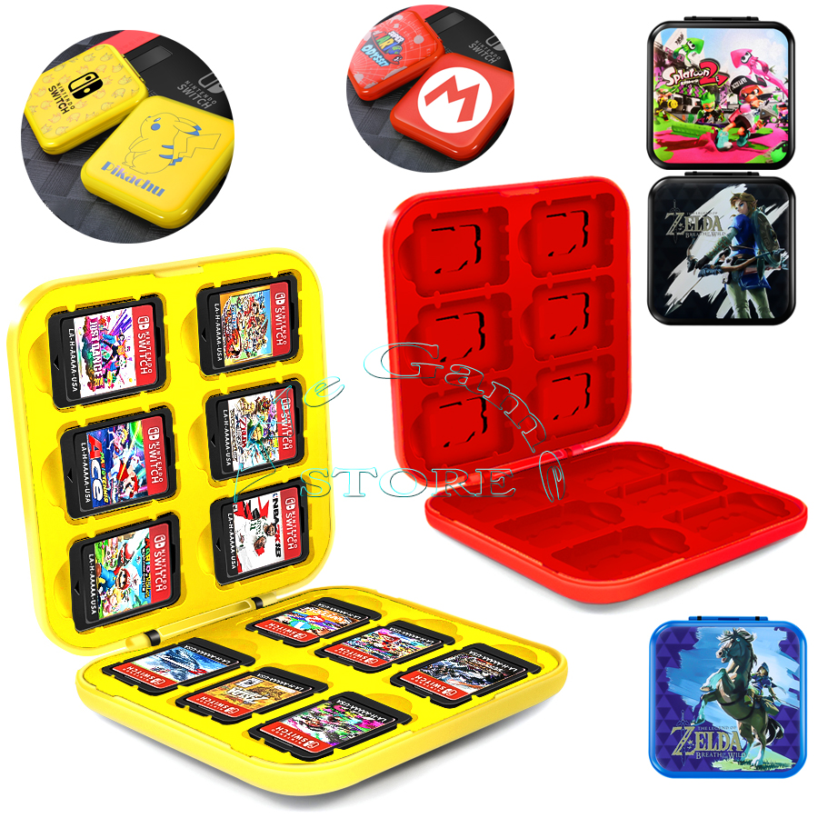 Nintendoswitch Game Card Case Box Nitendo Nintend Switch Disc Mi ni Storage Bag for Nintendo_Switch Games Accessories Holder image