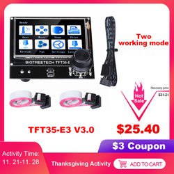 Bigtreetech TFT35-E3 v3.0 compatível 12864lcd display wifi tft35 peças de impressora 3d para ender3 CR-10 skr v1.3 mini e3