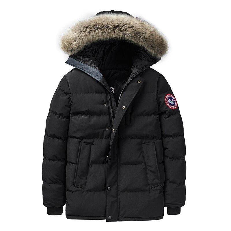Hiking Jacket Men Outdoor Sports Coat Windbreaker Waterproof Ski Jackets Men Winter Jacket Thick Warm Parka Fur Hooded Male