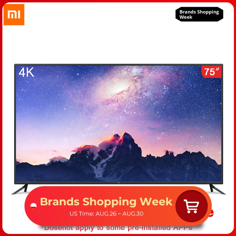 Xiaomi Remote-Control-4k Dolby-Sound 4-75-Inches HDR 2GB English-Interface Intelligent