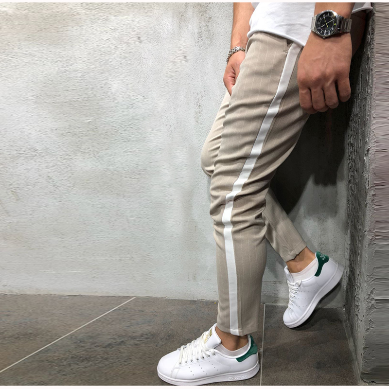 H94aac9f3ffca488b9336a7e8ac216fb6t Spring Autumn Casual Men Sweat Pants Male Sportswear Casual Trousers Straight Pants Hip Hop High Street Trousers Pants Joggers
