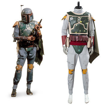 Star Cosplay Wars Boba Fett Cosplay Costume Men Uniform Outfits Halloween Carnival Suit Costumes Custom Made 1