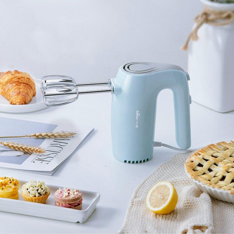Mini batteur à oeufs Portable fouet à oeufs mélangeurs à main 5 vitesses puissant moteur gâteau gaufrier appareil de cuisine