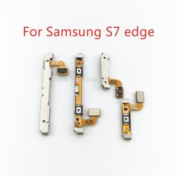 Złóż wniosek o Samsung Galaxy S7 G930F G930U G9300 S7 krawędzi G935F G935U G9350 przełącznik zasilania przycisk boczny głośności klucz miękki kabel wymienić tanie i dobre opinie LingLiWei For S7 G930F G930U G9300 S7 edge G935F G935U G9350 Moc Przyciski Głośności