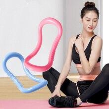 Yoga Círculo Mágico casa ejercicio Pilates Fitness anillo lazo cintura hombro forma deporte suministros entrenamiento herramientas resistencia equipo
