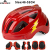 Batfox novo capacete de segurança das crianças ciclismo patinação capacete ultraleve protetor capacete da bicicleta esportes ao ar livre engrenagem protetora 7