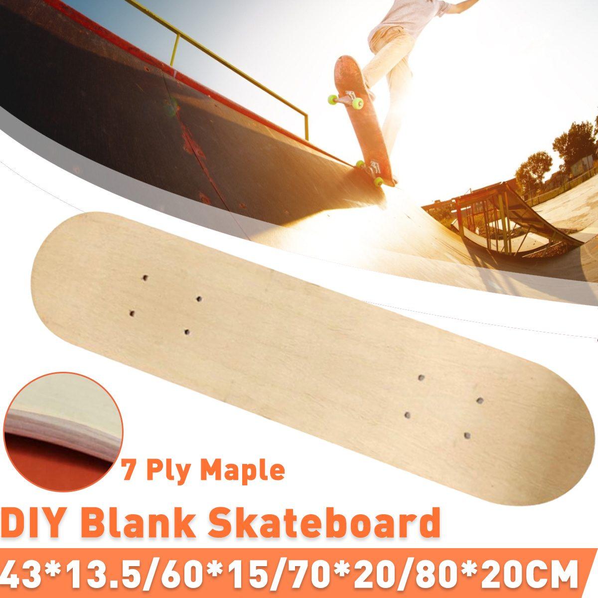 7-layer Maple Long Board Deck Skateboard Dance Board Panel Four Wheels Scooter Freestyle Road Board DIY Skate Board Deck