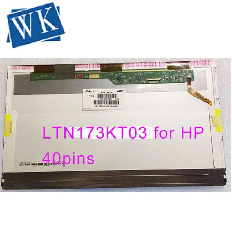 Free Shipping 17.3LED LTN173KT03 For HP Pavilion 17.3