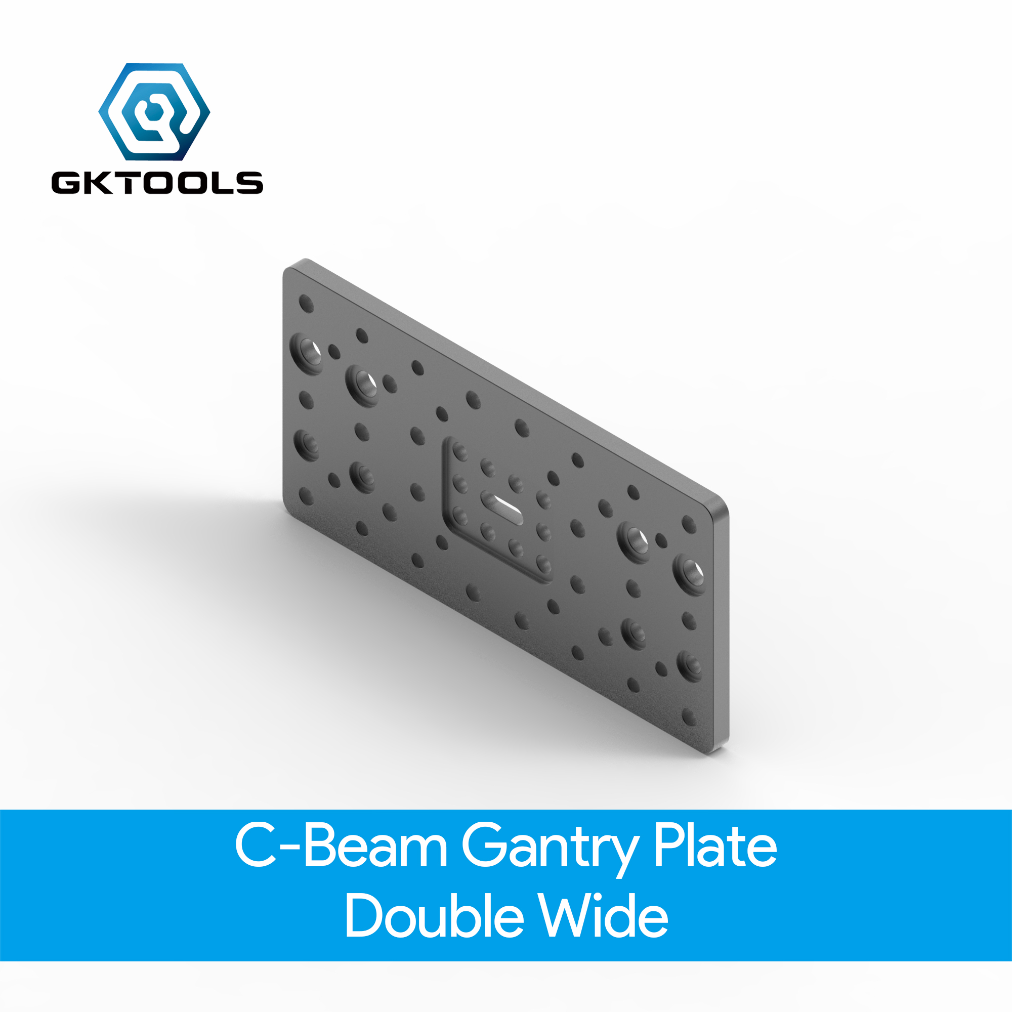 OpenBuilds C-Beam Gantry Plate - Double Wide