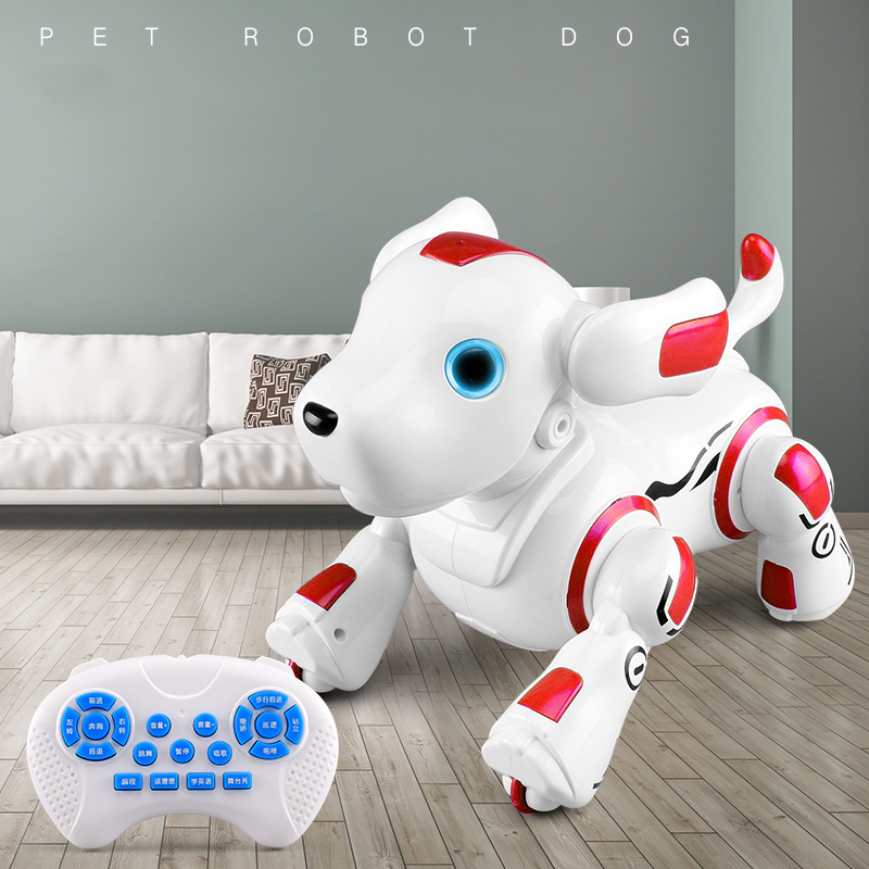 28*16*24cm Intelligent Robot Dog Smart Electric Remote Control Puppy Gift for Kids Children's Dialogue Machine Interactive Toys
