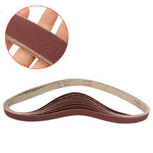 1pcs Sanding Belts 150 Grit Sandpaper Self Sharpening Oxide for Sander Polishing Abrasive Strips(China)